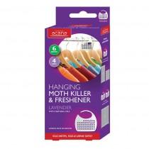 Acana Hanging Moth Killer & Freshener -4 Pack - Lavender