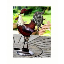 Adobe Cockerel Tea light Holder