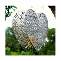 Adobe Convent Hanging Heart - Small