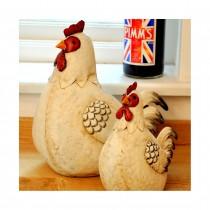 Adobe Sitting Hen - Large