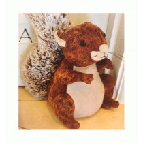 Adobe Squirrel Doorstop - Small