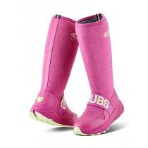 Grubs Adventure 4.0 Wellington Boots - Fuchsia - Size 4