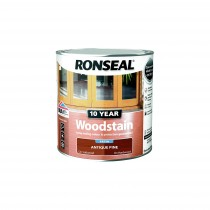 Ronseal 10 Year Woodstain - Antique Pine (Satin) 250ml