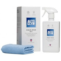 Autoglym Aqua Wax Kit - 500ml PLUS 2 Microfibre Cloths
