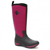 Muck Boot Arctic Adventure - Black/Maroon - Size 8