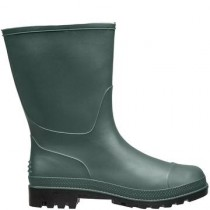 Briers B0464 Short Wellington Boots - Green - Size 4