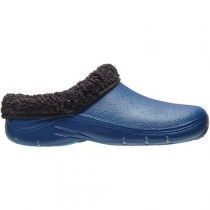Briers B5708 Thermal Clogs - Navy - Size 8