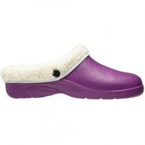 Briers B5718 Thermal Clogs - Lavender - Size 8