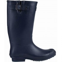 Briers B6799 Rubber Wellington Boots - Navy - Size 4