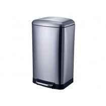 Blue Canyon Ba2007ch Oslo Kitchen Bin - Chrome - 30L