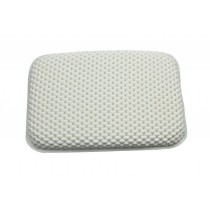 Blue Canyon BA3011 Cushioned Bath Pillow - 20 x 29cm - White
