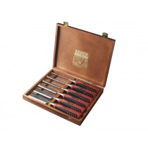 Bahco (424P-S6-EUR) Bevel Edge Chisels in Wooden Box - Set of 6
