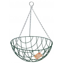 """Gardman Traditional Hanging Basket - 40cm (16"""")"""