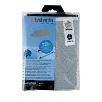 Brabantia (216800) Heat Reflecting Ironing Board Cover - Size A 110cm x 30cm - Metalized