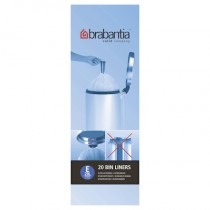 Brabantia (245329) Bin Liners - Size E (20 Litre) - Pack of 20