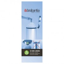 Brabantia (246265) Bin Liners - Size G (30 Litre) - Pack of 20