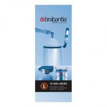 Brabantia (371547) Bin Liners - Size L (45 Litre) - Pack of 10