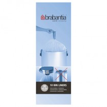 Brabantia (246784) Bin Liners - Size H (50 Litre) - Pack of 10