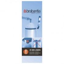 Brabantia (311741) Bin Liners - Size B (5 Litre) - Pack of 20