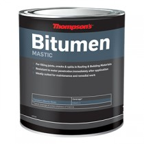 Thompson's Bitumen Mastic - Black 5L