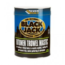 Everbuild 903 Bitumen Trowel Mastic - 5L