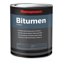 Thompson's General Purpose Bitumen Paint - Black 1L