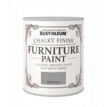 Rust-Oleum Chalky Furniture Paint (Matt)  Winter Grey - 125ml