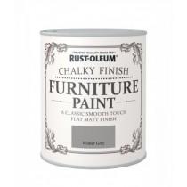 Rust-Oleum Chalky Furniture Paint (Matt)  Winter Grey - 125ml