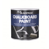 Blackfriar Chalkboard Paint (Matt) Black 1L