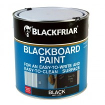 Blackfriar Chalkboard Paint (Matt) Black 2.5L