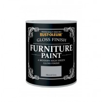 Rust-Oleum Furniture Paint Mineral Grey (Gloss) 750ml
