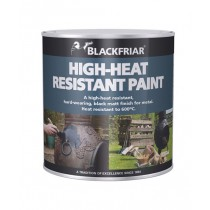 Blackfriar High-Heat Resistant Paint (Matt) Black - 250ml