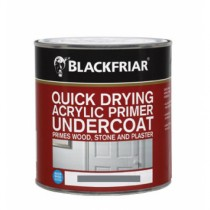 Blackfriar Acrylic Primer Undercoat (Matt) Grey - 1L