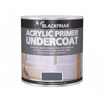 Blackfriar Acrylic Primer Undercoat (Matt) Grey - 250ml