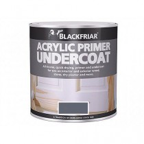 Blackfriar Acrylic Primer Undercoat (Matt) Grey - 500ml