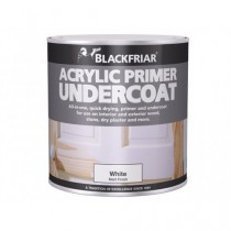 Blackfriar Acrylic Primer Undercoat (Matt) White - 250ml