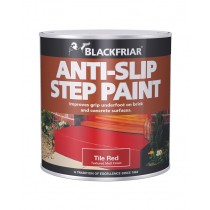 Blackfriar Anti-Slip Step Paint (Matt) Tile Red - 250ml