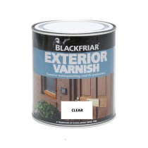 Blackfriar Exterior Varnish (Gloss) Clear - 1L