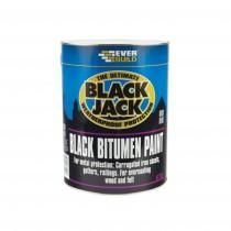 Everbuild 901 Black Jack Black Bitumen Paint - 2.5L