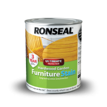 Ronseal Ultimate Protection Hardwood Furniture Stain - Clear Natural (Matt) - 750ml
