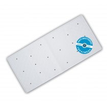 Blue Canyon BM310 Anti-Bacterial Rubber Bath Mat - Whtie