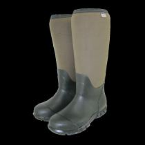 Town & Country Buckingham Neoprene Wellington Boots - Green - Size 8