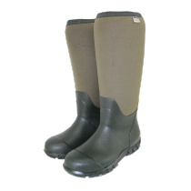Town & Country Buckingham Neoprene Wellington Boots - Green - Size 4