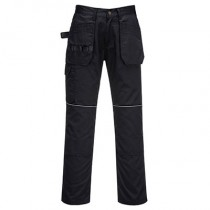 Portwest C720 Tradesman Holster Trouser - Black - 38R