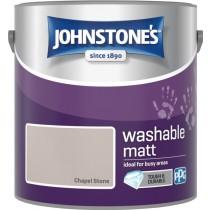Johnstone's Washable Matt Paint - Chapel Stone - 2.5L
