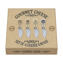 Creative Tops Gourmet Cheese Cheese Knives - Set of 4