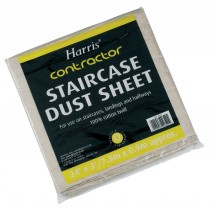 Harris Contractor Dust Sheet - Staircase - 7.3m x 0.9m (24\' x 3\')
