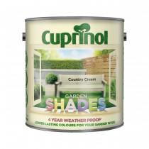 Cuprinol Garden Shades Country Cream - 2.5L