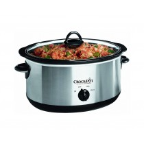 Crock Pot (scv400pss-IUK) Slow Cooker Polished Stainless Steel 3.5L