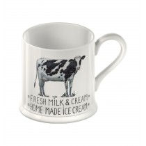 Creative Tops Country Farmers Market Cow Tankard Mug - 250ml